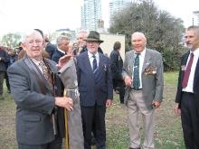 2009 Annual March Dave Thomson, David McDonald, John Campbell, Ian Campbell