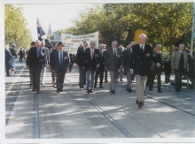 2000 Annual March Jack Crittenden leading