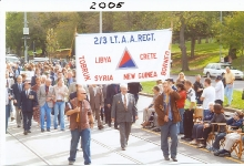 2005 Annual March Dave Thomson leading
