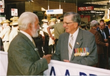 1993 Annual March Col Reilly Les Harris