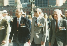 1994 Annual March Ron Bryant, Les Harris, Cec Rae