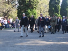 2008 Annual March Malcom Webster, Ron Bryant leading