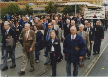 2002 Annual March John Hepworth, Les Harris, John Campbell