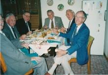 1996 Annual Reunion, Les Harris, Cec Rae, Tom Dawson, ?, John Campbell, Ron Bryant