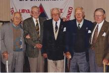 2001 Annual Reunion,Doug Davis, Les Harris, Bert Baglin, Neil Anderson, Tom Dawson