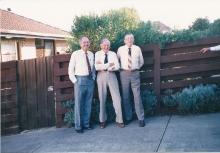 1987 Annual Reunion, Ron Bryant, Cec Rae, Les Harris