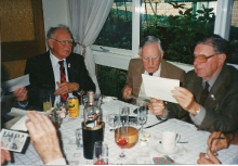1990 Annual Reunion, ?, Cec Rae, Tom Dawson