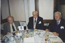 1998 Annual Reunion, Lin Davis, Bert Baglin, Malcolm Webster