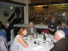 2008 Annual Reunion, Kaye Huggins (Donelly), Alan Rundle, Ann Bragg (Paton), Lynton Rose, Frank Hands