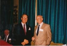 1992 Annual Reunion, John Hepworth, Lin Davis