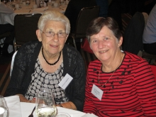 Joyce Curnow and Dot Harris