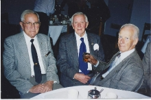 2000 Annual Reunion Ern Kerr, Ern Cope and Ian Rutter