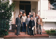 Association Members At Beaumauris RSL 1986