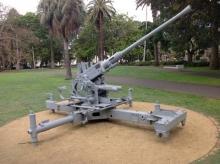 Bofors Redfern Park Sydney Feb 2013