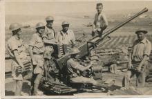 Bofors Crew Maleme Airfield