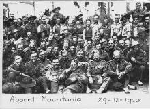 On Board Mauretania