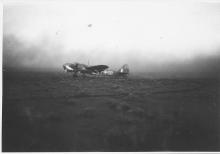 Blenheim Bomber Derna Airfield