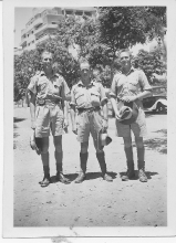 Mears, Read and Clucas in Cairo 1941