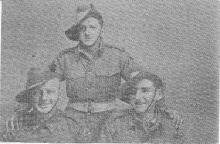 Bill Joss, Ray Everlyn, Arthur Block, Cairo, 1941
