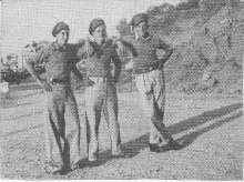 Ray Everlyn, Arthur Block and Clyde Sterry in Cairo