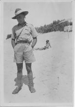John Marshall On Beach