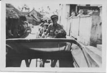 John Marshall In Rickshaw (Cochin)