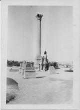 Pompey's Pillar, February 1941