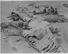Destroyed German Aircraft