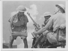 In Action Tobruk 1941