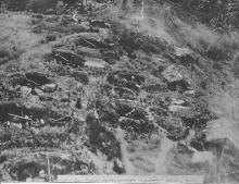 Japanese Heavy A-A Battery at Boram