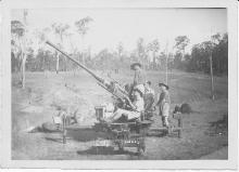 Bofors at Buna