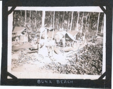 Camp At Buna Beach