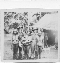 Troops with locals