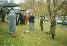 Shrine Tree Dedication 1997