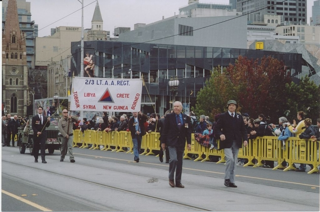 2004 Annual March John Campbell, Malcolm Webster leading