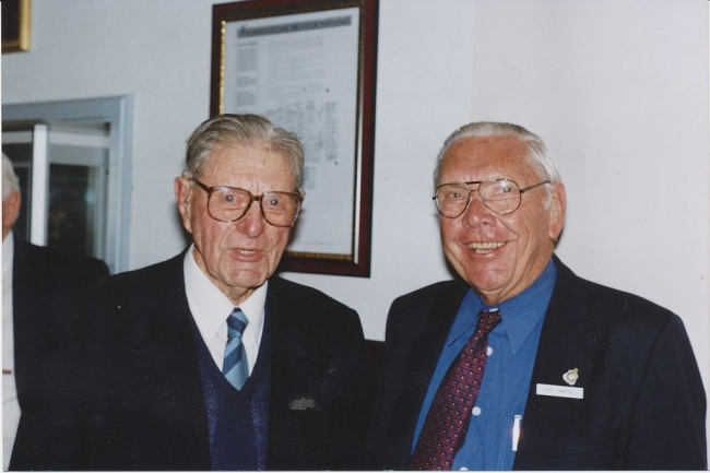 2004 Annual Reunion, Tom Dawson, John Campbell