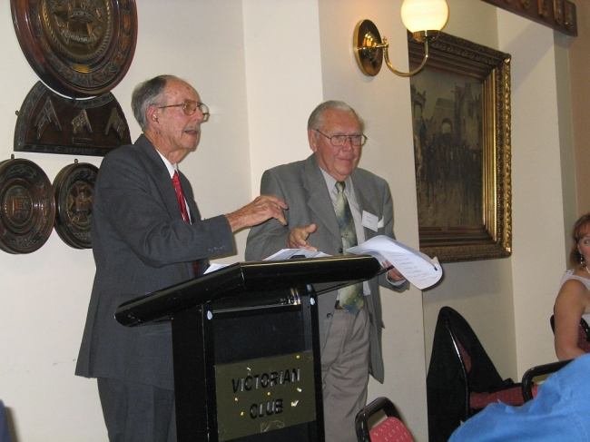 2008 Annual Reunion, Ron Bryant, John Campbell